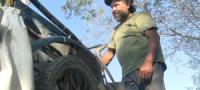 Ni la pandemia pudo detener a Juan Manuel Pérez, quien de la basura lleva el sustento a su familia.