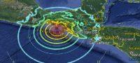 Registran 7 temblores simultáneos de 5 grados de magnitud en México y Guatemala