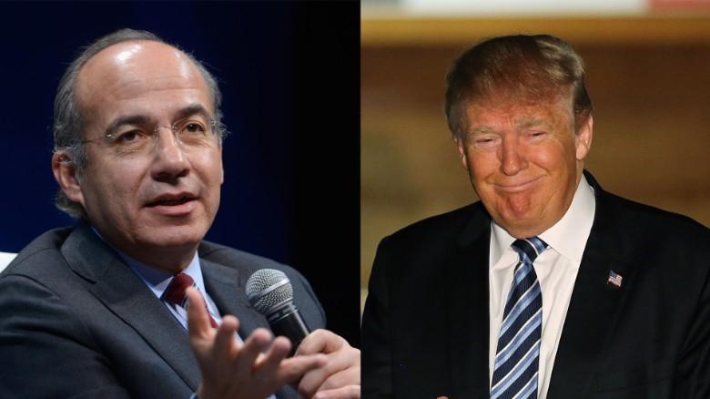 Segundea Calderón a Trump y pide realizar conteo en elecciones de EU; en RRSS le recuerdan supuesto fraude