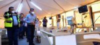 Hospital móvil de Torreón