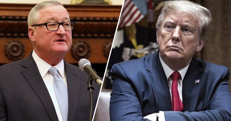 Trump acusa de fraude en las elecciones 2020 y alcalde de Filadelfia responde, 'que se ponga los pantalones y acepte la derrota'