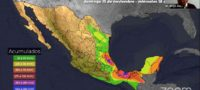 Frente Frío No 13: Emiten alerta por Tormenta 'Lota' en México