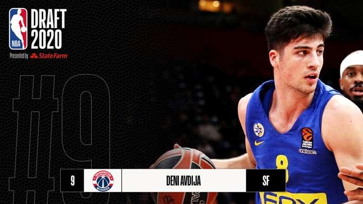 NBA Draft 2020: Elige Washington Wizards a promesa israelí, Deni Avdija de Maccabi Tel Aviv