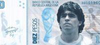 ¿Crearán en Argentina nuevo billete de $10 con la cara de Maradona?