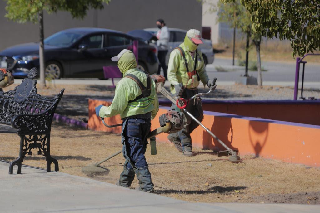 No se detienen las Acciones de Limpieza en Saltillo ante Pandemia