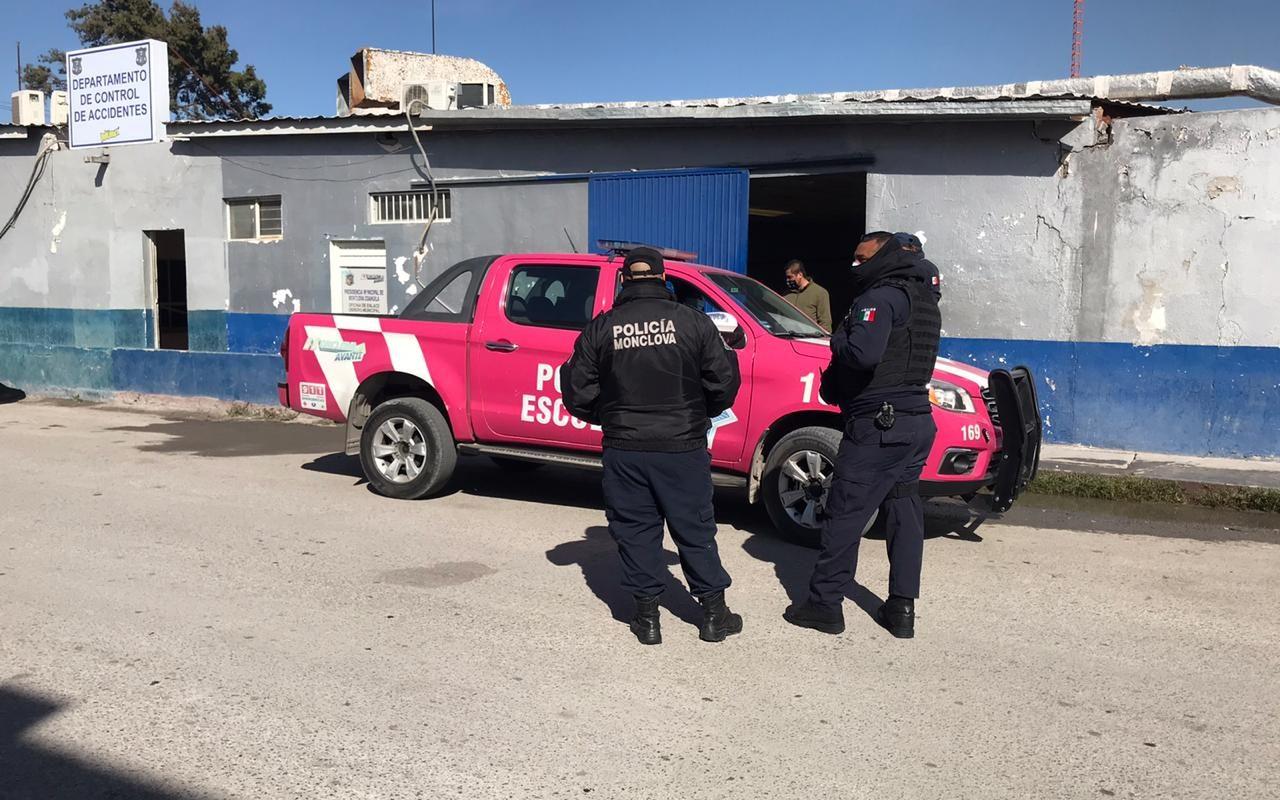 Policiaca: Positivo a COVID dos policías en Monclova; previenen contagio masivo