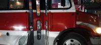Policiaca: Choca contra camión de ruta y asusta a pasajeros