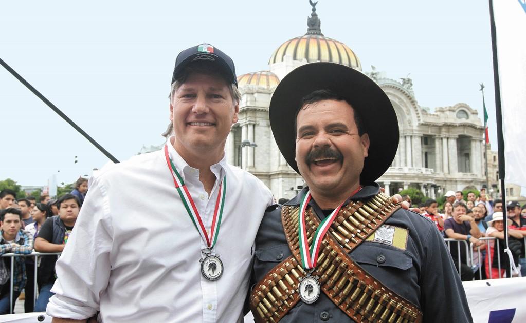 Christoper Landau embajador de EU en México, se despide del cargo,
