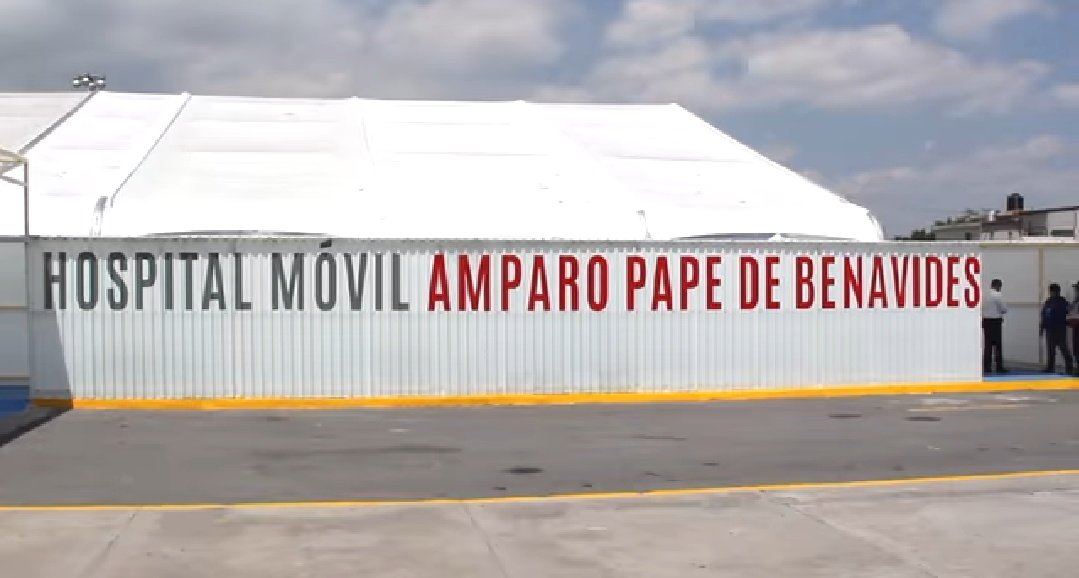 A un 30% de su capacidad Hospital Móvil Amparo Pape de Benavides