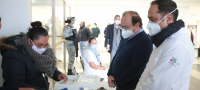 Inicia Coahuila aplicación de tercer lote de vacunas COVID en la Región Sureste
