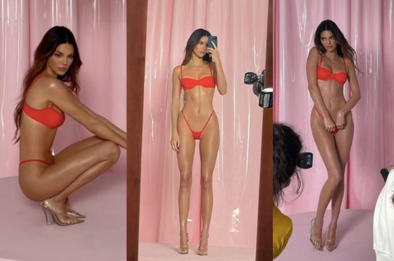 ¿Su cuerpo no es real? Kendall Jenner usaría filtro corporal más lucir más curvas