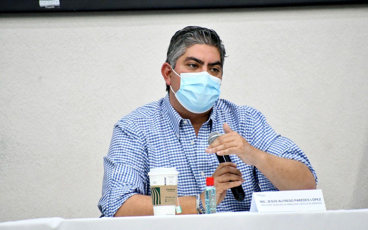 Seguirá plan de crecimiento en Monclova: Alfredo Paredes