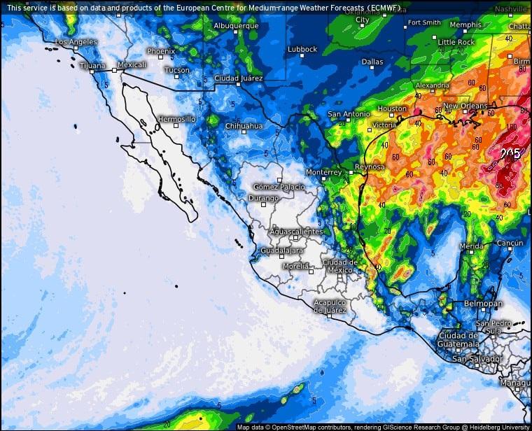 Pronostican hasta -8° en Acuña, Coahuila a causa de la masa polar que se avecina