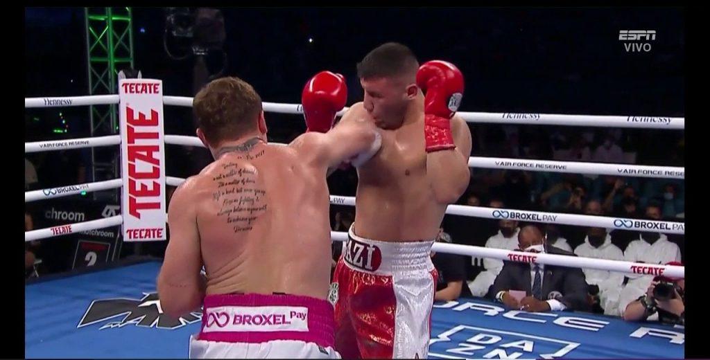 ¡Victoria de México! Por KO 'Canelo' derrota al turco Avni Yildirim en Miami