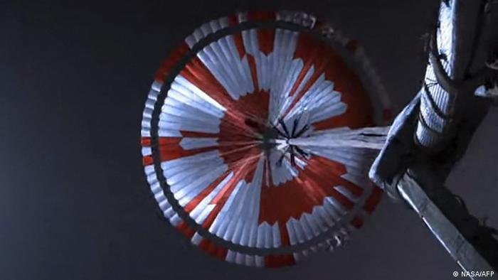 El primer video del aterrizaje de Perseverance en Marte; imágenes exclusivas de la NASA