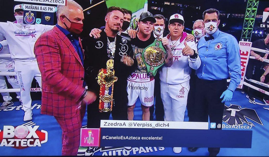 ¡Victoria de México! Por KO 'Canelo' derrota al turco Avni Yildir¡Victoria de México! Por KO 'Canelo' derrota al turco Avni Yildirim en Miami en Miami