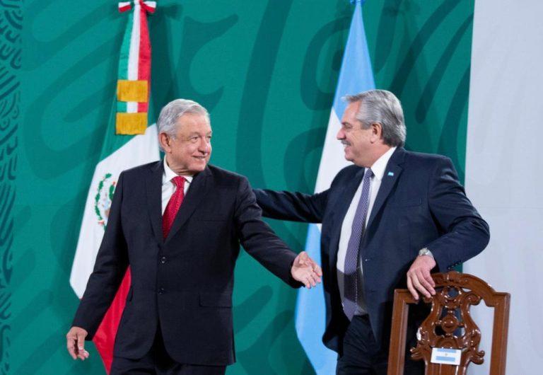 AMLO y yo pasaremos a la historia como los presidente de la pandemia: Alberto Fernández