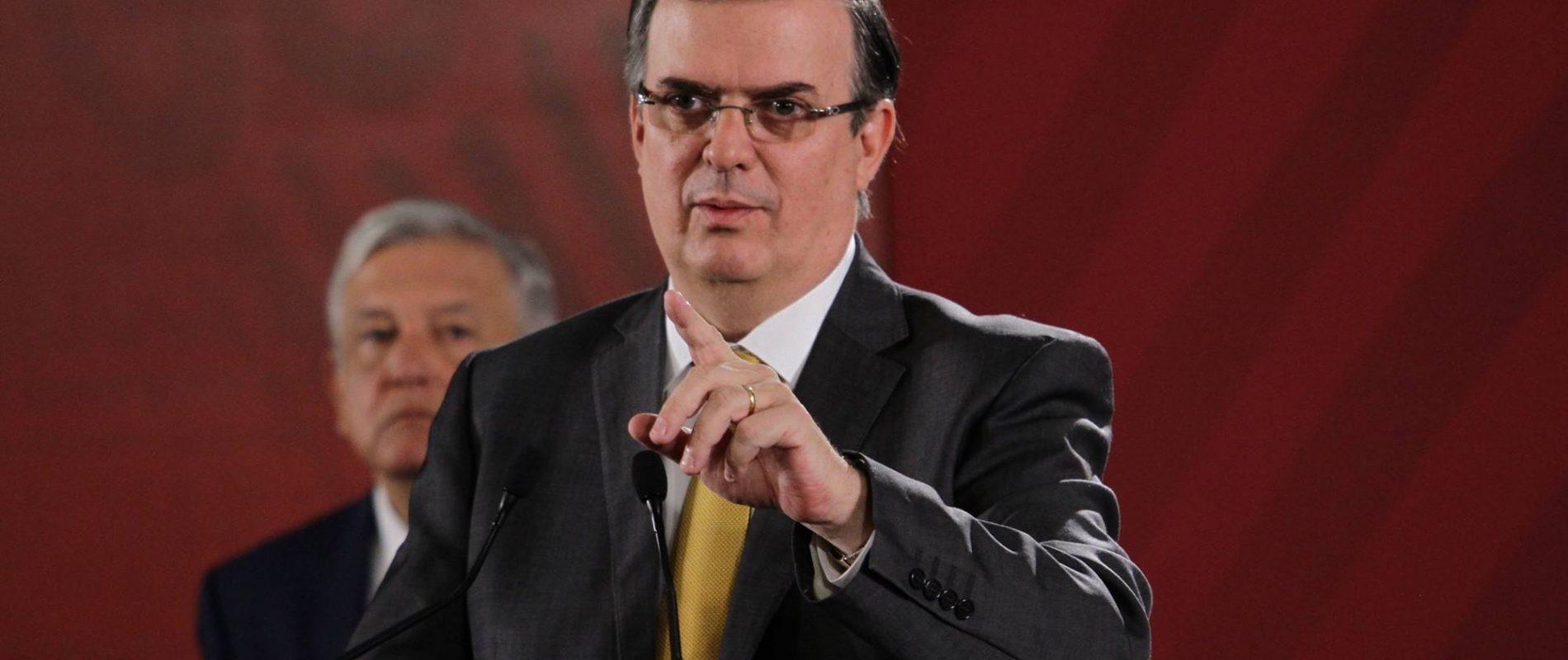 Presume Gobierno de México buscar solidaridad frente a la pandemia