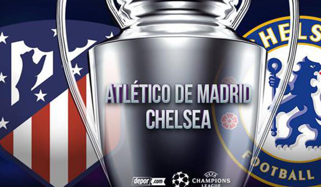 En vivo Atlético de Madrid vs Chelsea: juego de ida de octavos de final de Champions League