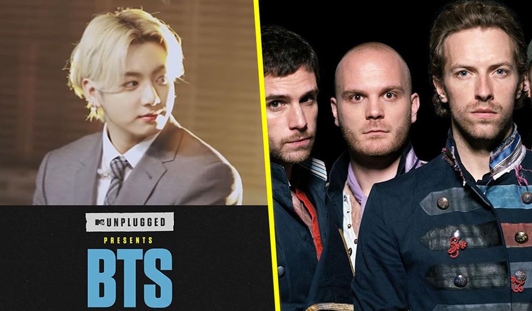 BTS cantará 'Fix You', cover de Coldplay en MTV Unplugged: no te pierdas el estreno