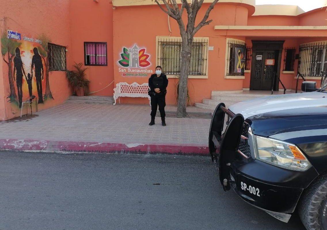 Refuerzan policías la vigilancia en áreas verdes de San Buenaventura