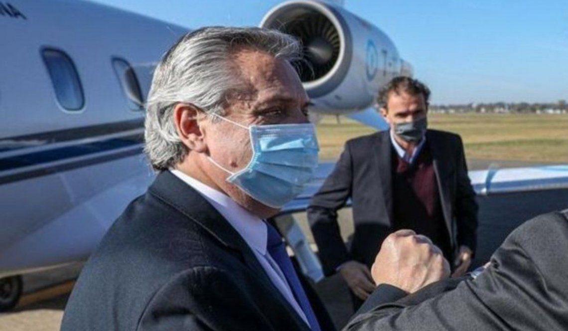 Agenda del presidente de Argentina, Alberto Fernández tras su llegada en México