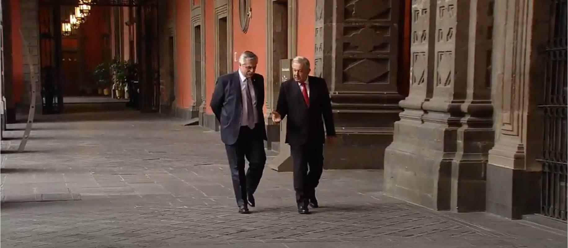 Recibe AMLO a Alberto Fernández; presidente de Argentina en la mañanera | NRT México