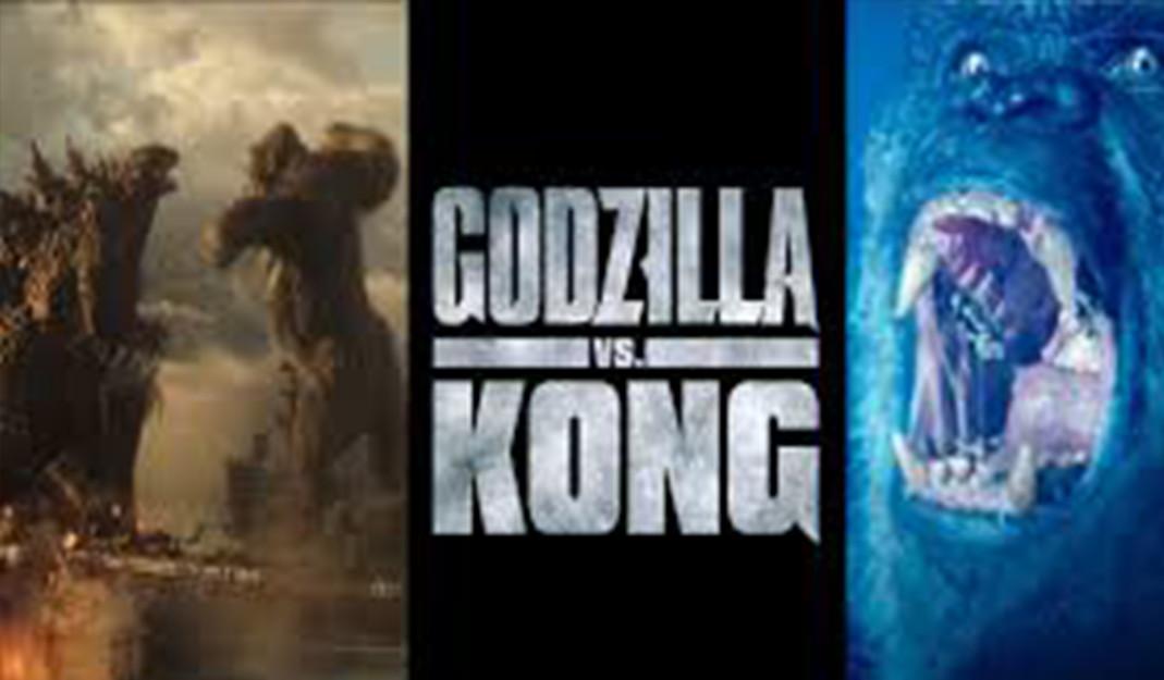 Nuevo póster internacional de Godzilla vs Kong; pelea de titanes bajo el mar