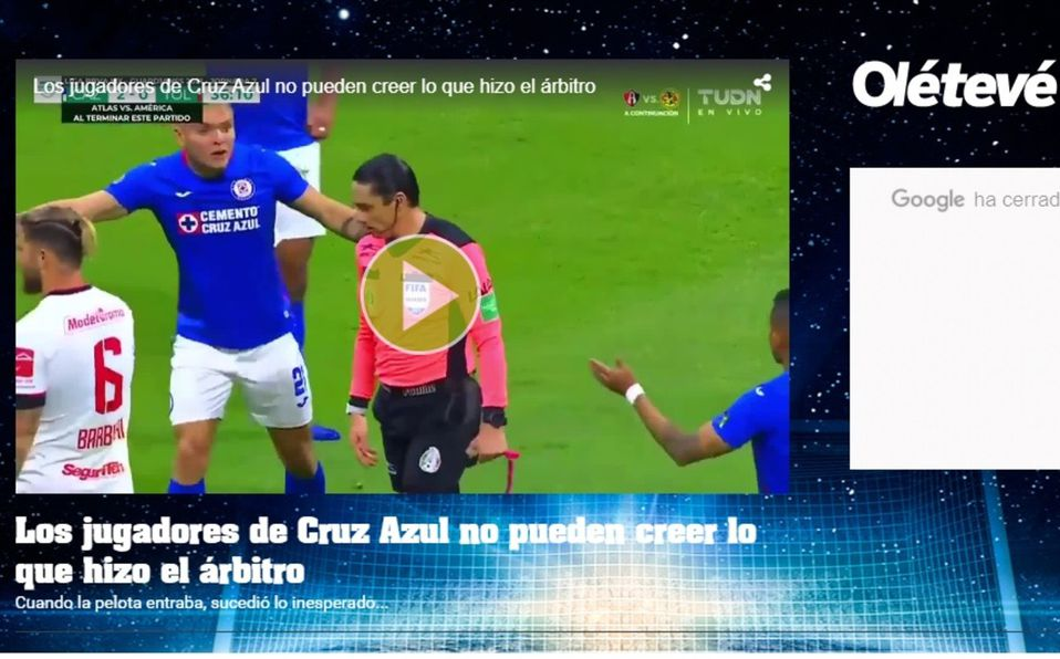 Cruz Azul vs Toluca: 'Oso' del árbitro Macías da la vuelta al mundo; prensa internacional lo destaca
