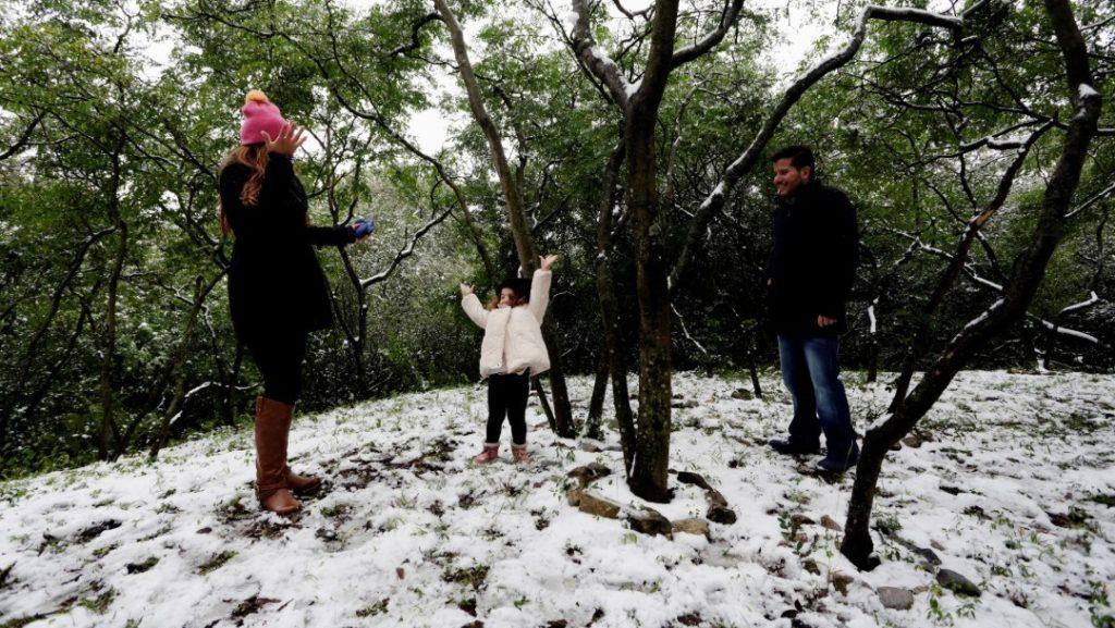 Temperaturas de -5° a -15°C y vientos fuertes en Coahuila, Nuevo León y Chihuahua