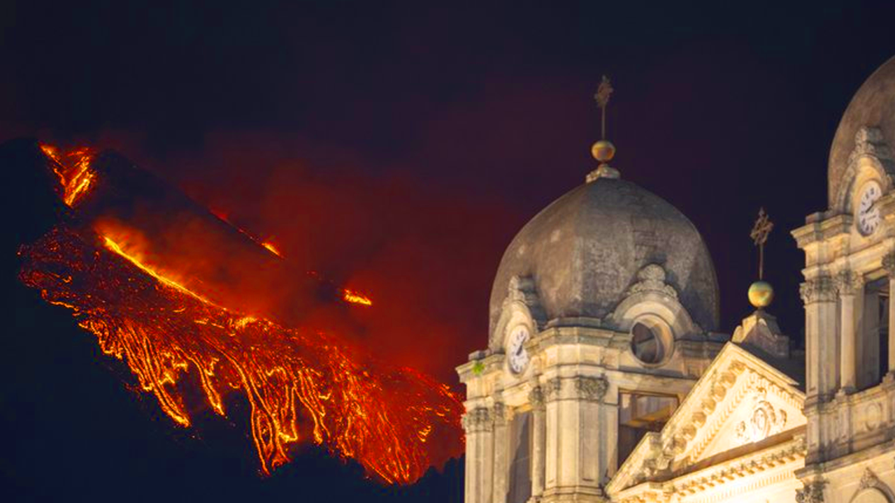 Volcán Etna: Última erupción 'la más potente hasta ahora'