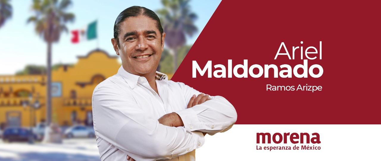 Es Ariel Maldonado el candidato de unidad de MORENA por Ramos Arizpe