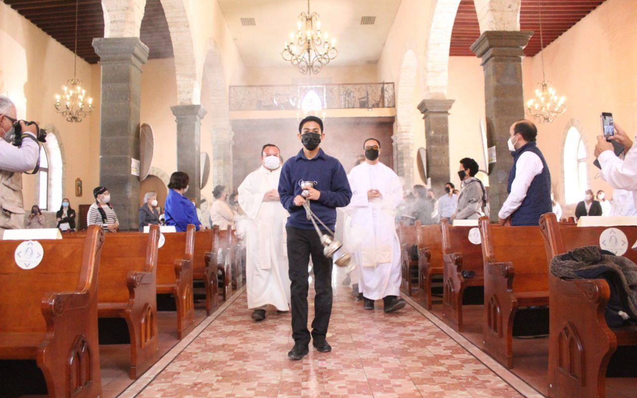Conmemoran 212 aniversario de la fundación de la parroquia de San José en Cuatro Ciénegas