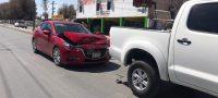 Policiaca: Conductor no mide distancia y choca por alcance en Bulevar Acereros de Monclova