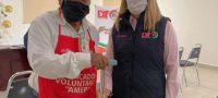 DIF Frontera entrega aparatos ortopédicos