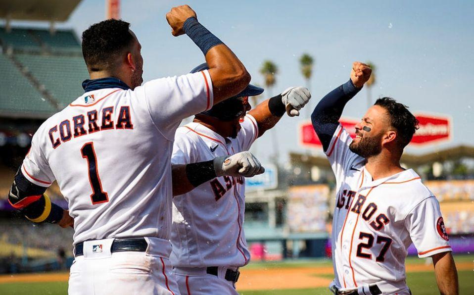 Astros de Houston serán vacunados antes de empezar la MLB 2021