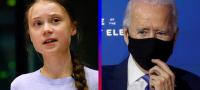 Greta Thunberg ahora va contra Biden; Lo acusa de 'no hacer lo suficiente contra el cambio climático'