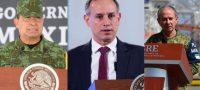 'Los tres están fuera de peligro'; confirma AMLO que López-Gatell, Ojeda y Cresencio se recuperan del COVID