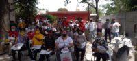 Apoyan vecinos del centro de Castaños a Roly González