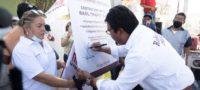 Se compromete Roberto Piña a rehabilitación de Unidad Deportiva Raúl Papo Ríos