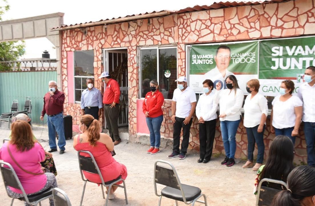 Gladys y Rolys piden voto en Castaños