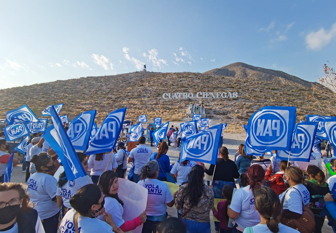Cuatro Ciénegas busca 3 años más con Yola Cantú en la Presidencia Municipal