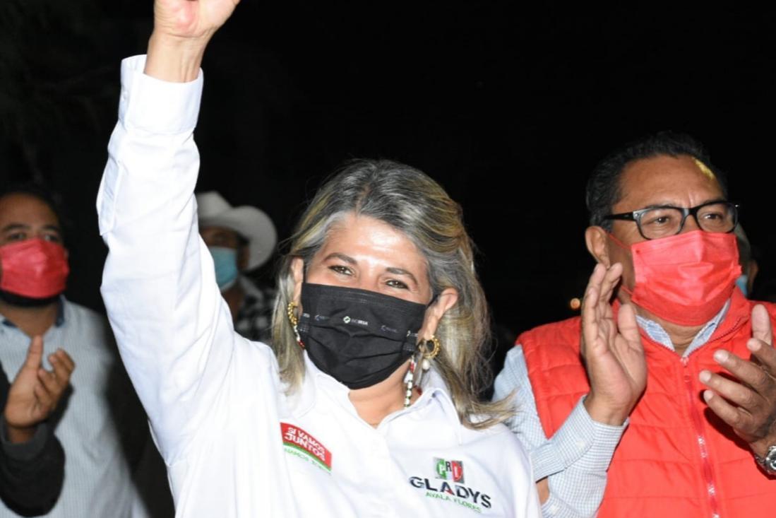 Gladys Ayala arranca campaña en cabecera distrital
