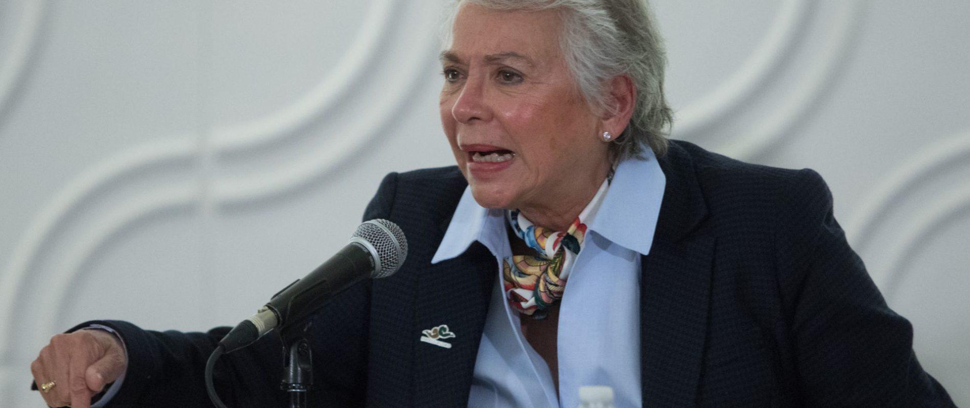 Que el INE haga su trabajo, que no busque aplausos: Sánchez Cordero