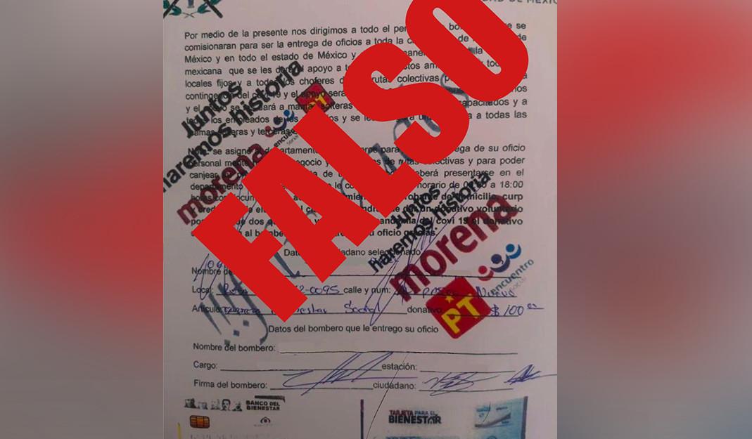Usan nombre del Cuerpo de Bomberos para realizar fraude; pedían dinero para ayudar a los afectados por COVID