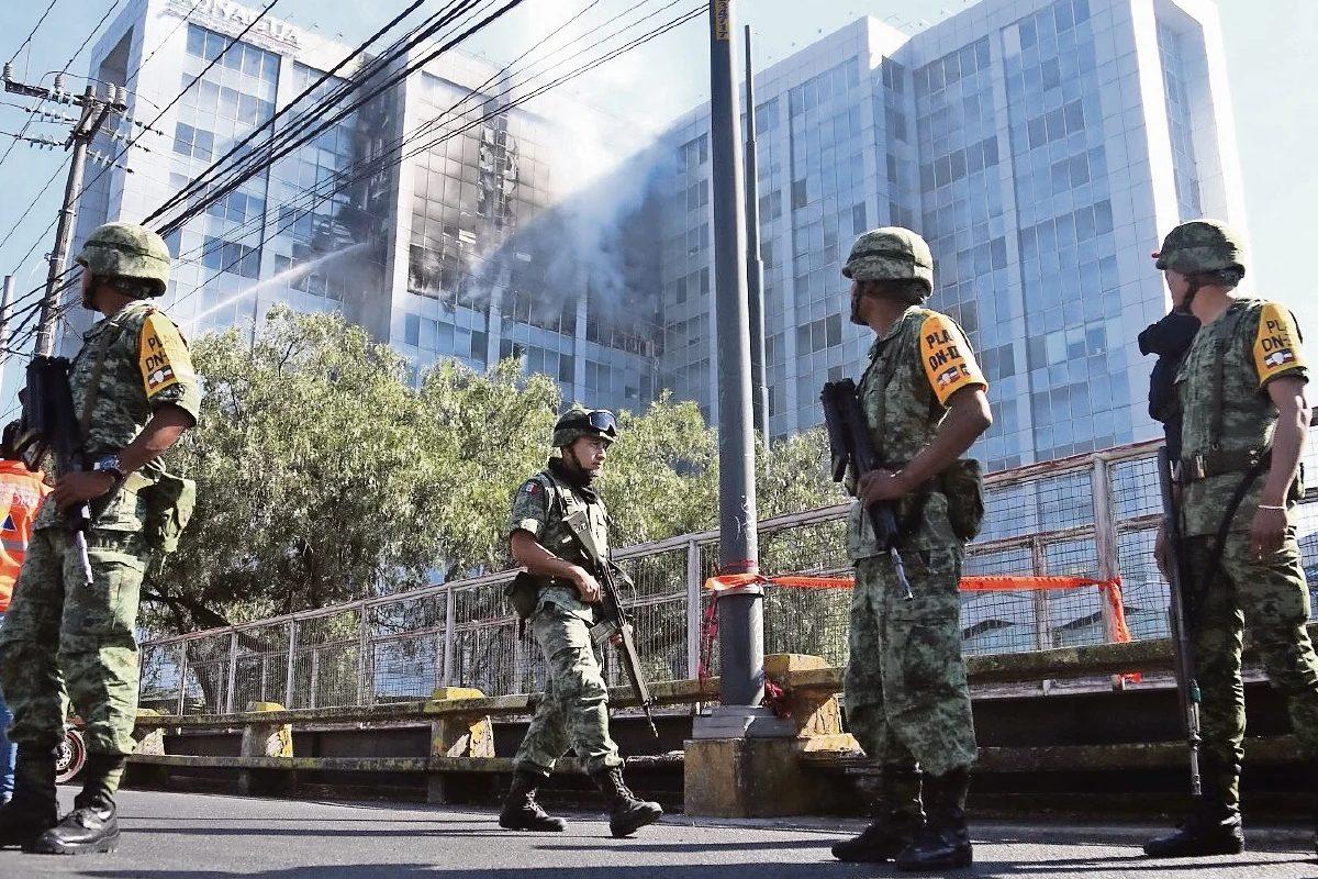 AMLO va con todo en seguridad, al desplegar más militares que Calderón y Peña Nieto