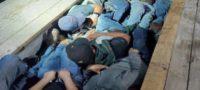 Arrestan a 20 migrantes, incluyendo menores en Coahuila; estaban escondidos en un doble fondo de tráiler