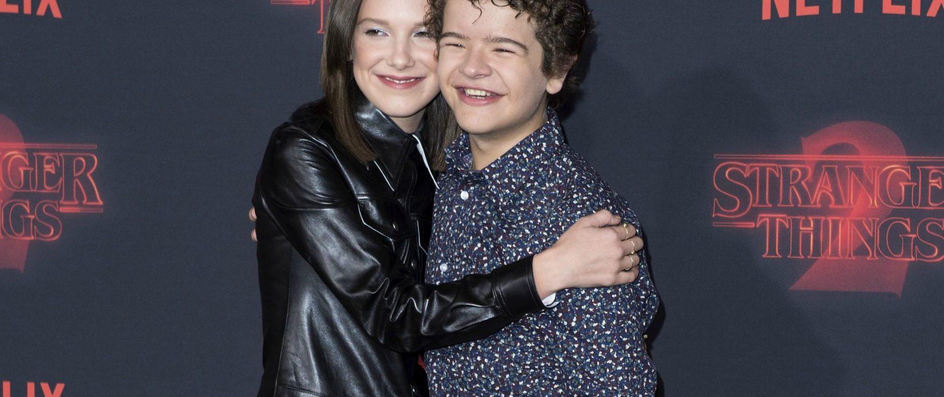 Gaten y Millie de Stranger Things ya fueron vacunados