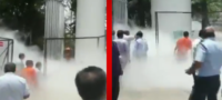 Fuga de oxígeno en hospital deja en situación crítica a pacientes covid; 24 murieron al ya no recibirlo