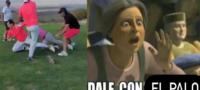 Mirreyes protagonizan pelea campal: se agarran a golpes en campo de golf y desatan burlas